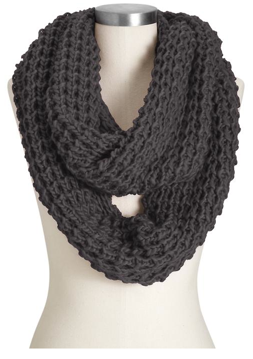 Free Knitting Patterns Infinity Scarves : Chunky Knit Infinity Scarf My Style Pinterest