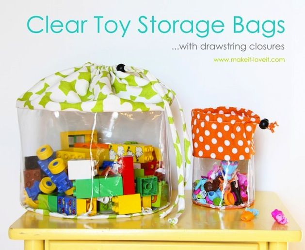 How To Clear Toy Storage Bags