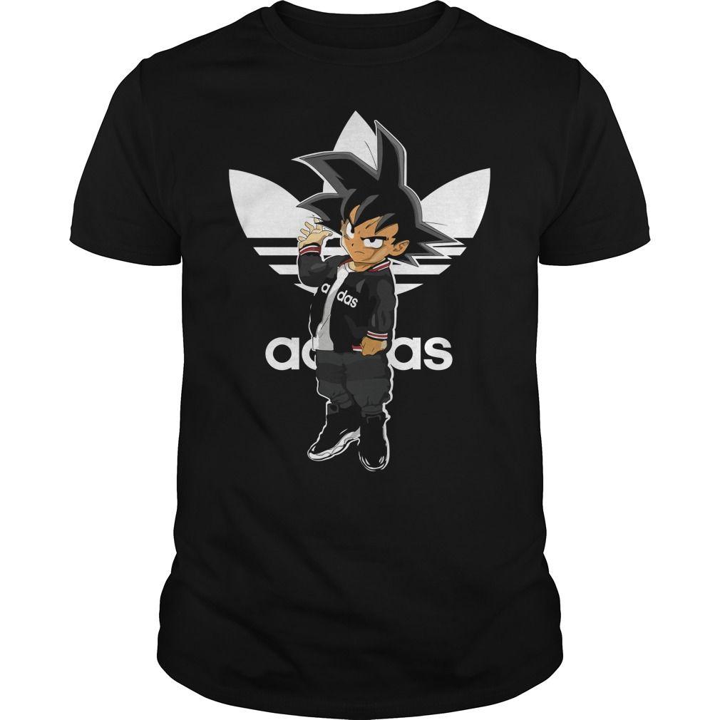 goku adidas t shirt, goku adidas hoodie, goku adidas