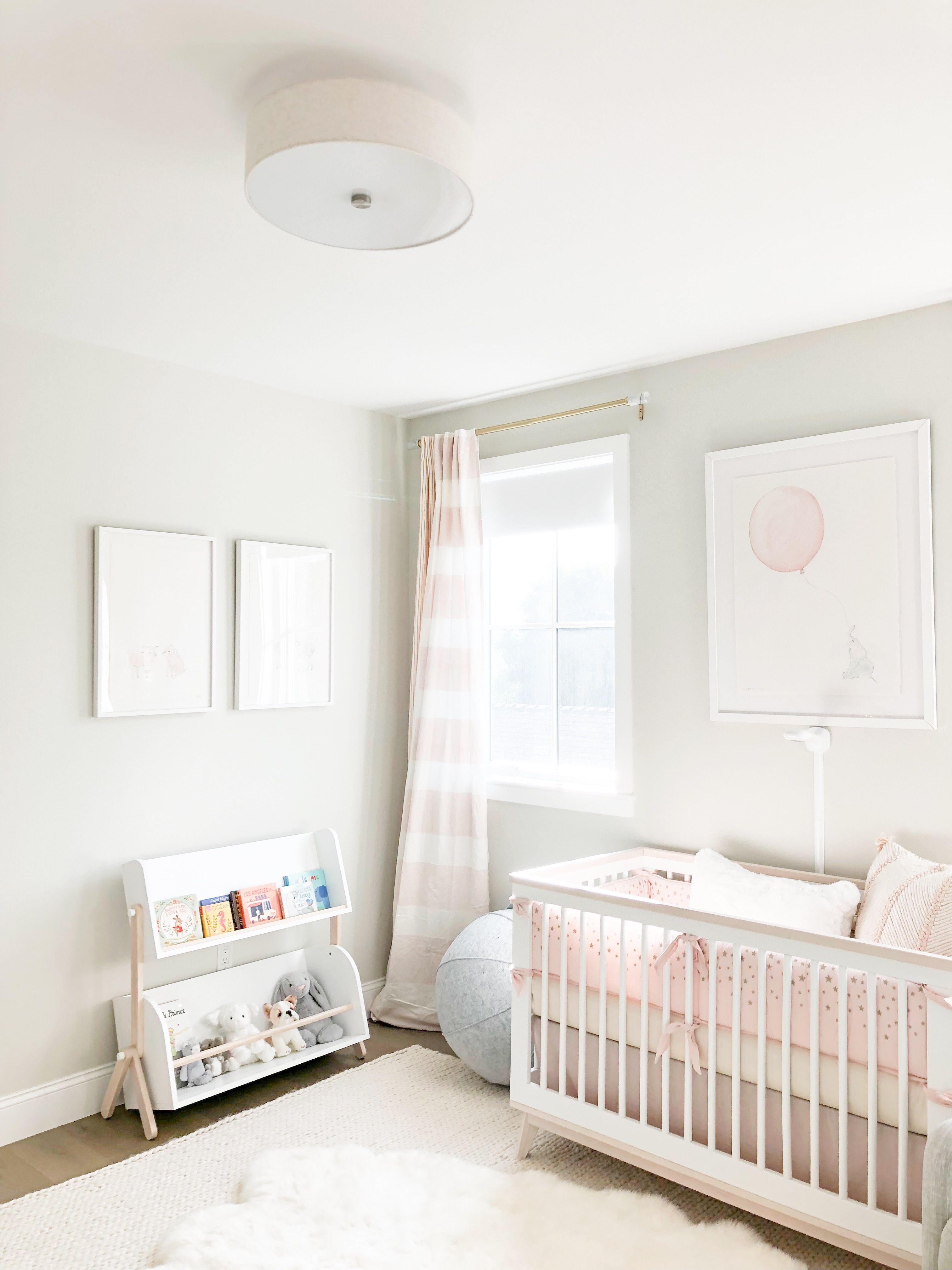 Baby Girl Weiss Nursery Reveal Baby Girl Nursery Room Girl
