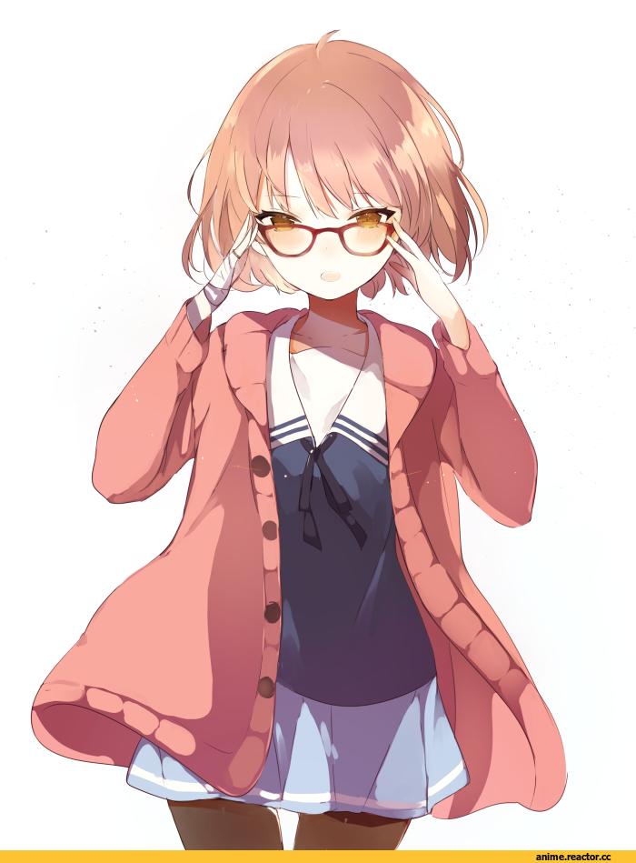 Kuriyama Mirai,Mirai Kuriyama,Kyoukai no Kanata,Anime