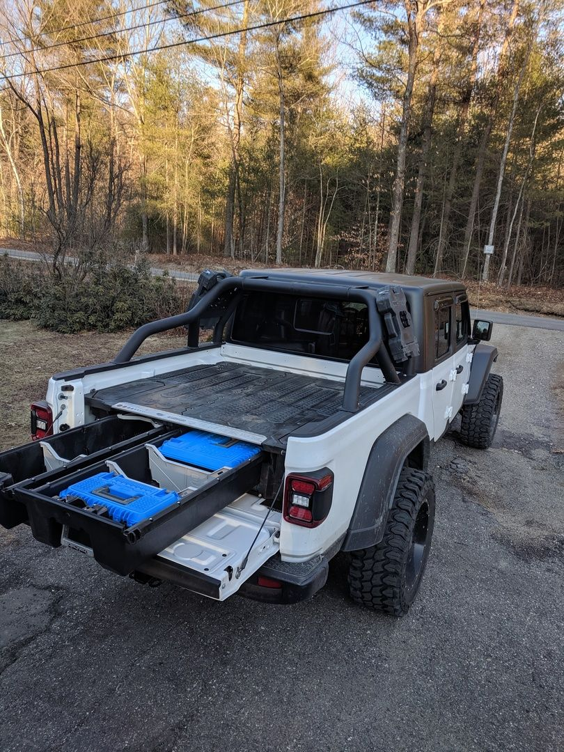DECKED Drawer System Jeep Gladiator in 2020 Jeep