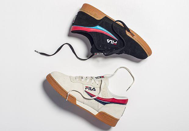Zapatillas de deporte blancas Original Fitness de Fila IRXdY