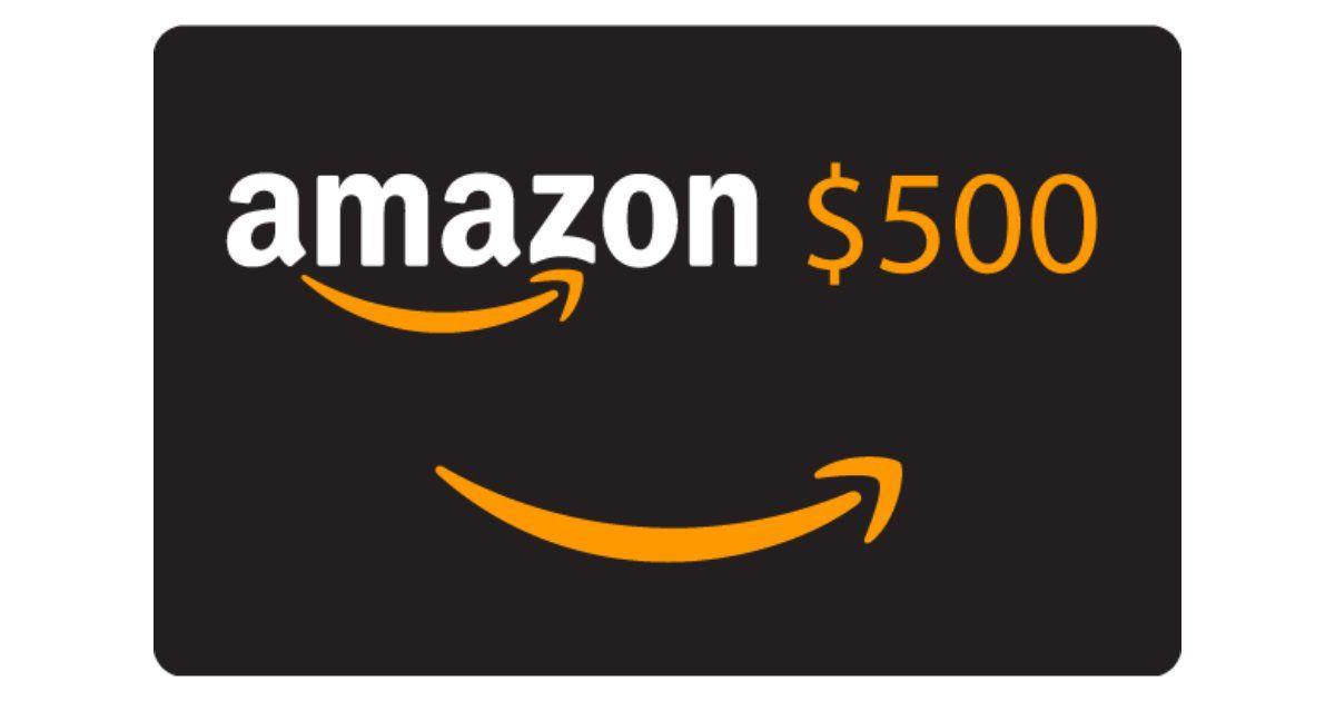 Win A 500 Amazon Giftcard Amazon Gift Card Free Amazon Gift Cards Free Amazon Products