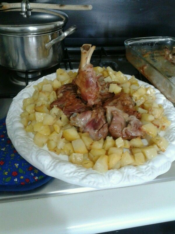 Chicken & potatoes