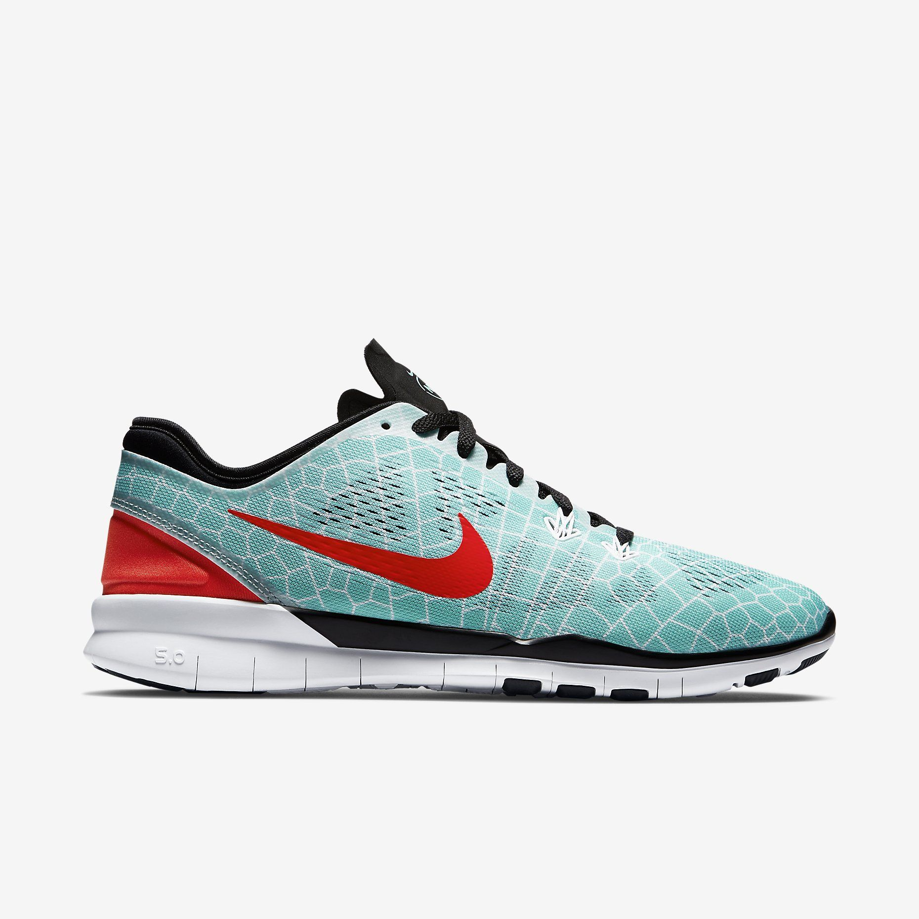6303ef354296 Nike Free 5.0 TR Fit 5 Print N7 Women s Training Shoe. Nike Store ...