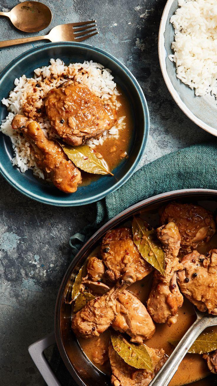 Coconut Milk Chicken Adobo Recipe in 2020 Adobo
