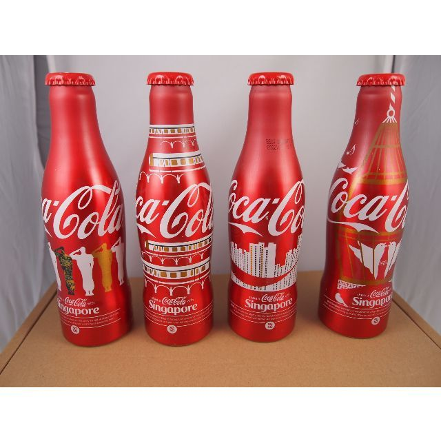 1 set of Singapore Commemorative SG50 Coke.New stock ...