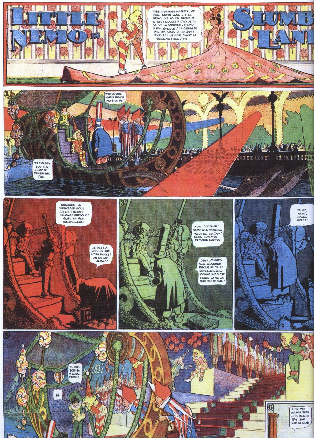 This Day in History: Oct 15, 1905: Little Nemo in Slumberland by Winsor McCay debuts dingeengoete.blogspot.com http://www.koikadit.net/WMacCay/nemo2.jpg