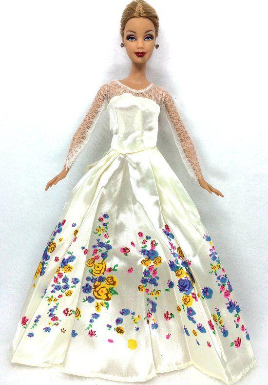 Trouwjurk van barbie