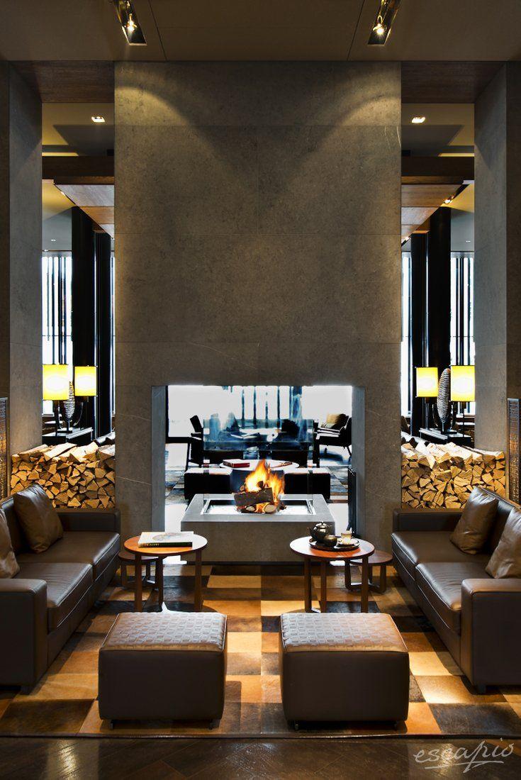 5 Sterne: Formvollendeter Luxus mit Kamin. The Chedi Andermatt ...