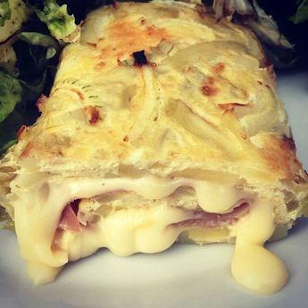 Omelette roulée façon tartiflette #tartifletterecette