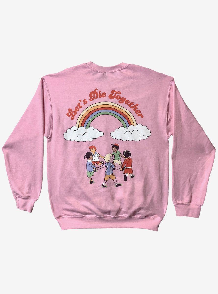 Melanie Martinez Let S Die Together Girls Sweatshirt In 2021 Sweatshirts Girl Sweatshirts Melanie Martinez