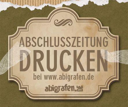 Abschlusszeitung Drucken Gut Gunstig Abizeitung Zeitung Und Abi
