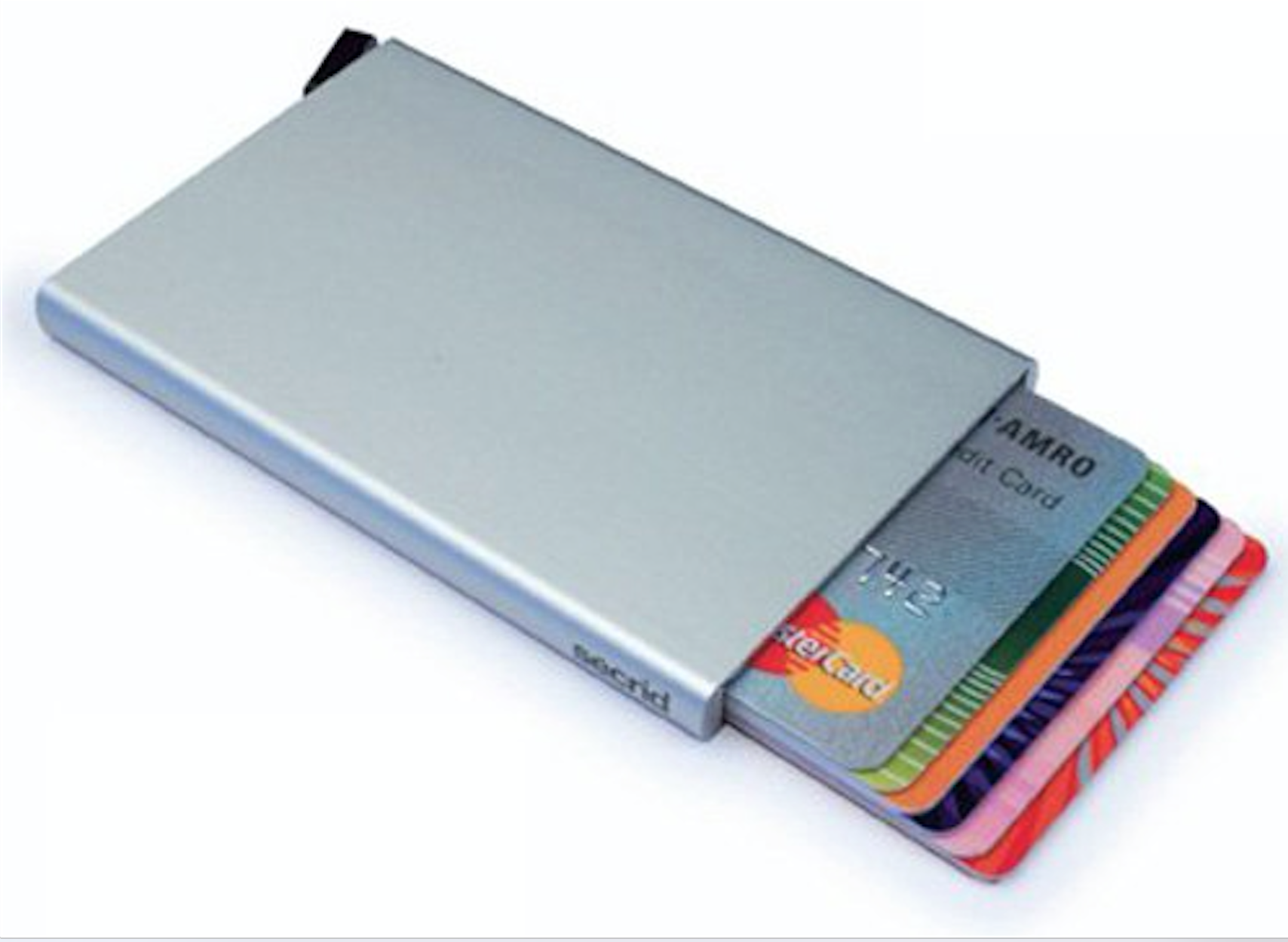 Slim card organizer and protector. Minimize your wallet. You can ...