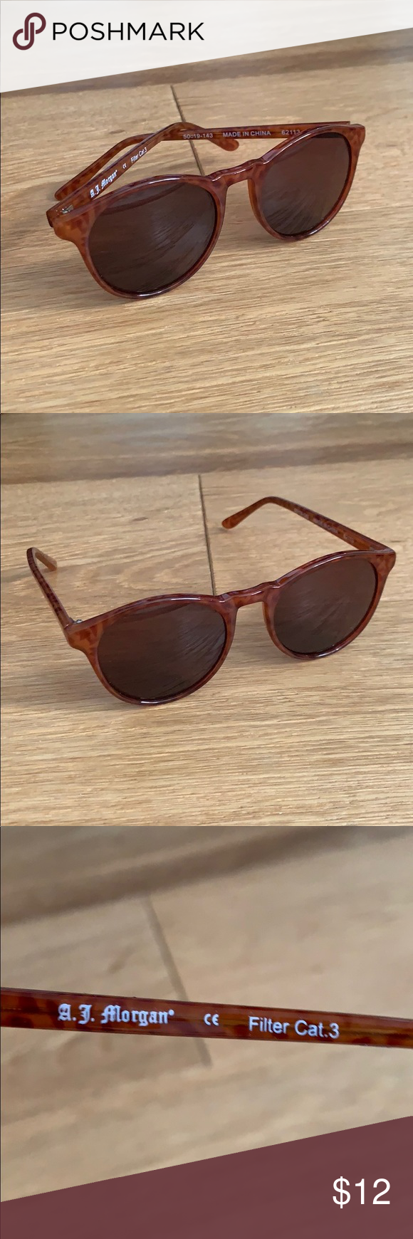 8a2de1012 Anthropologie A.J. Morgan sunglasses NEW Never worn! Super cute ...
