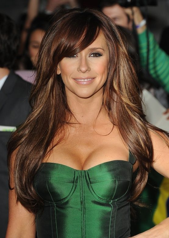 Jennifer Love Hewitt Long Hair Styles Long Hair With Bangs Hair Styles