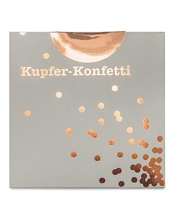 Kupferkonfetti von Stefanie Luxat Blog Ohhh Mhhh bei Bertine 24,90€