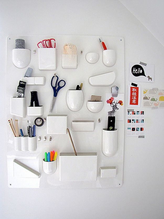 50 clever craft room organization ideas pinterest craft storage diy craft room ideas and craft room organization projects diy wall organizer for crafts cool ideas for do it yourself craft storage fabric paper solutioingenieria Images