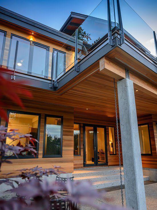 Modern bungalows exterior designs Inspiration   Modern homes ...