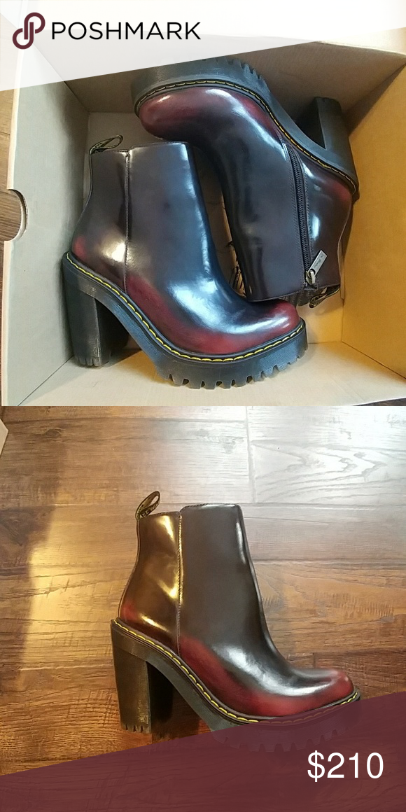 Doc Martens Magdalena Arcadia Brand new in the box cherry