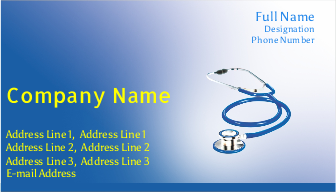 Visiting Card Printing For Doctor Printasia In Business