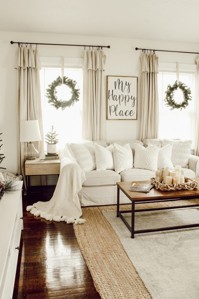 Our Christmas Home Tour #livingroom #