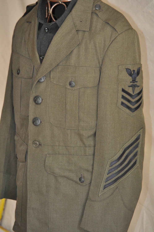 Vintage Military Jacket Men S 38 80 S Us Navy Dress Etsy Vintage Military Jacket Navy Dress Uniforms Military Jacket [ 1500 x 996 Pixel ]
