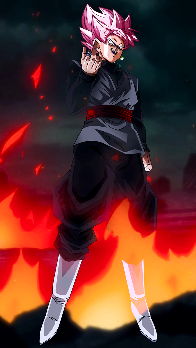 Ssr Goku Black W Fu Mobile Wallpaper 1080p By Davidmaxsteinbach Fondos De Pantalls Cool Fondos