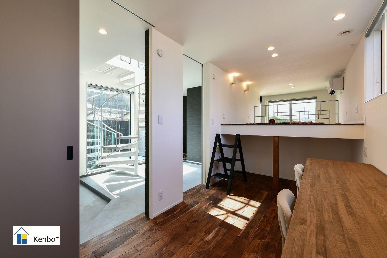 岡山県倉敷市の一級建築士事務所 カッコよくて 住みごこちの良い家