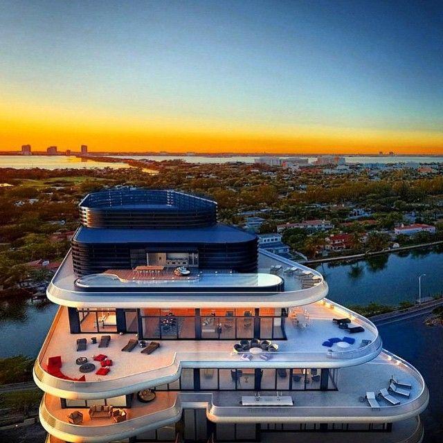 #feelthetouch Miami Beach Penthouse