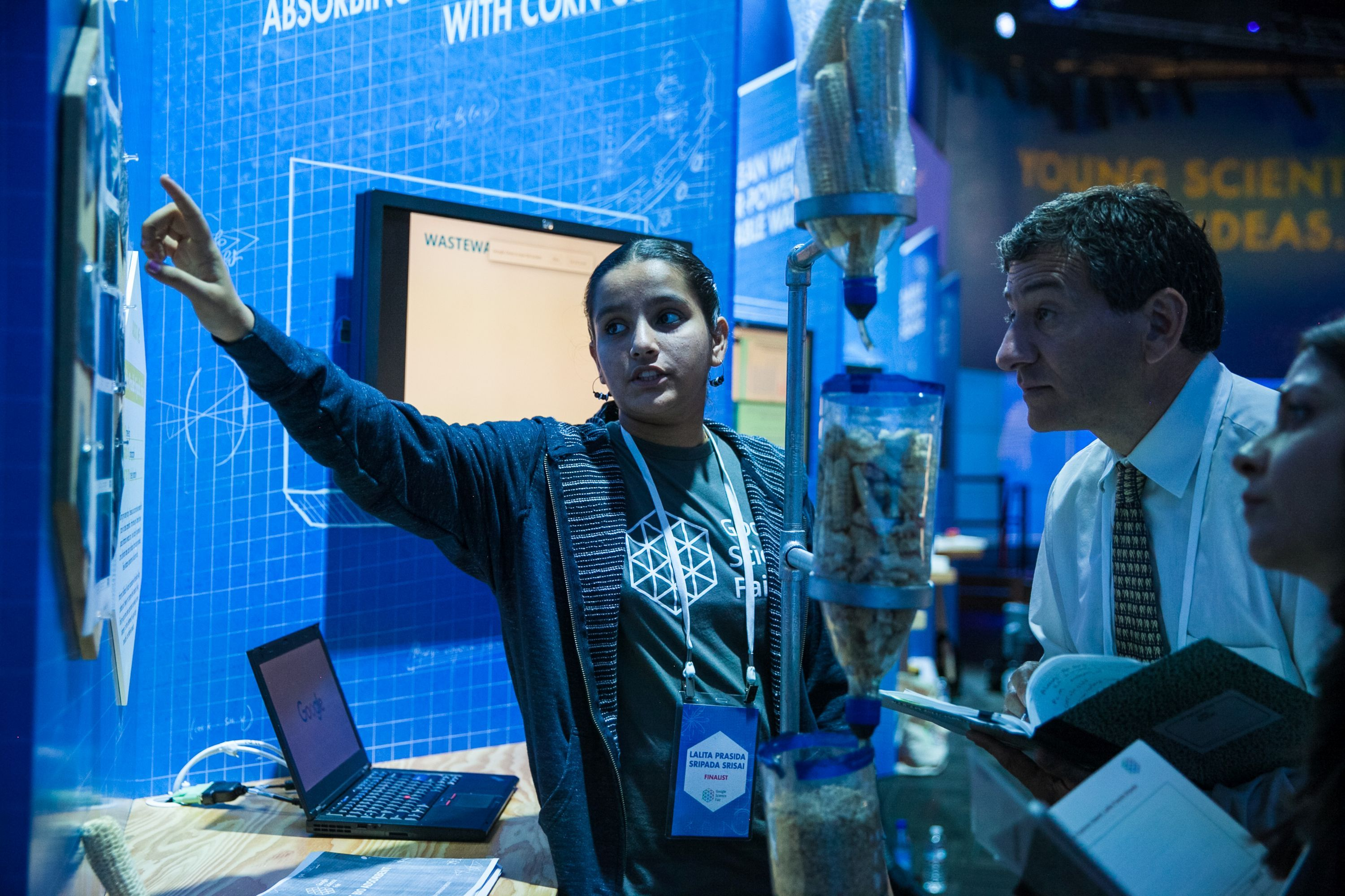 Teens Who Won Science Fair Took A Leap Of