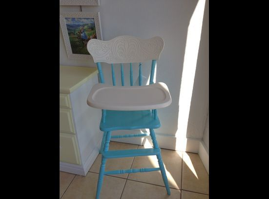 Old Fashioned Wooden High Chair Wooden High Chairs