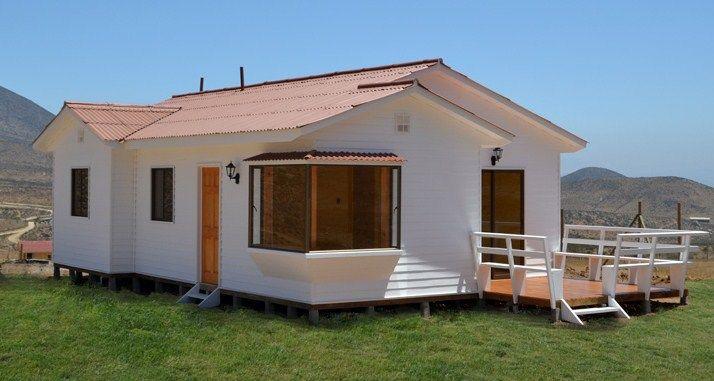 Casa prefabricada de 3 dormitorios casas pinterest for Casas de campo prefabricadas