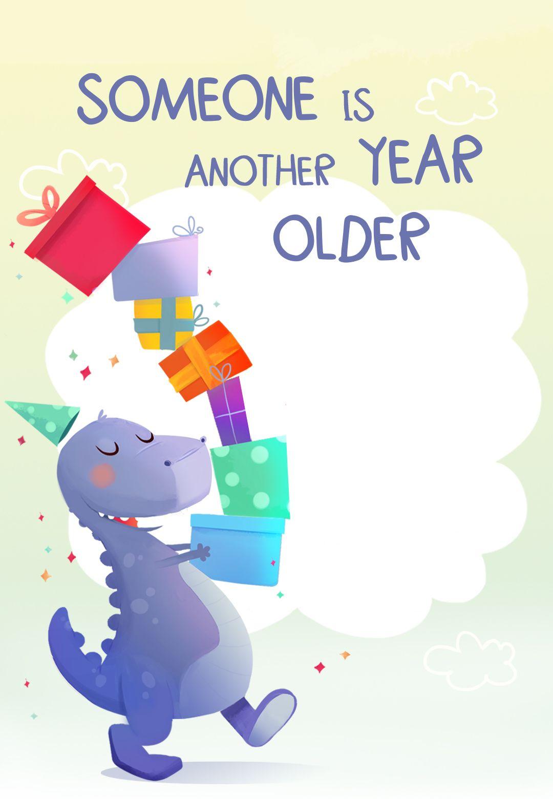 7th birthday dinosaur free printable birthday invitation