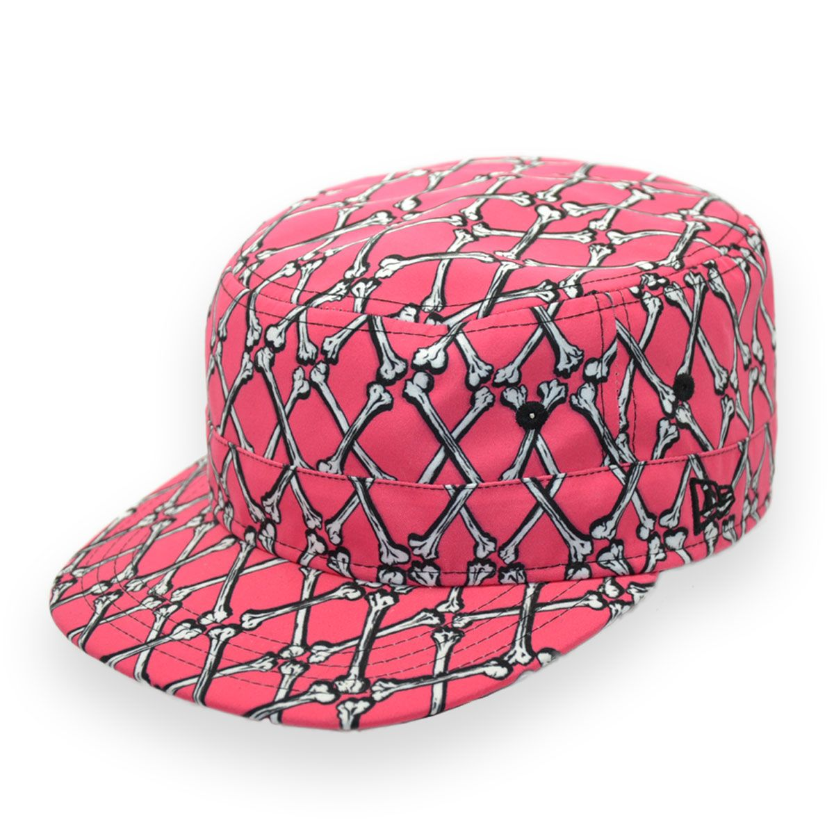 1df02b7c5dbc6 New Era Jeremy Scott Pink Cap New Era Authentic Brand Unisex Fitted Hat  100% Polyester