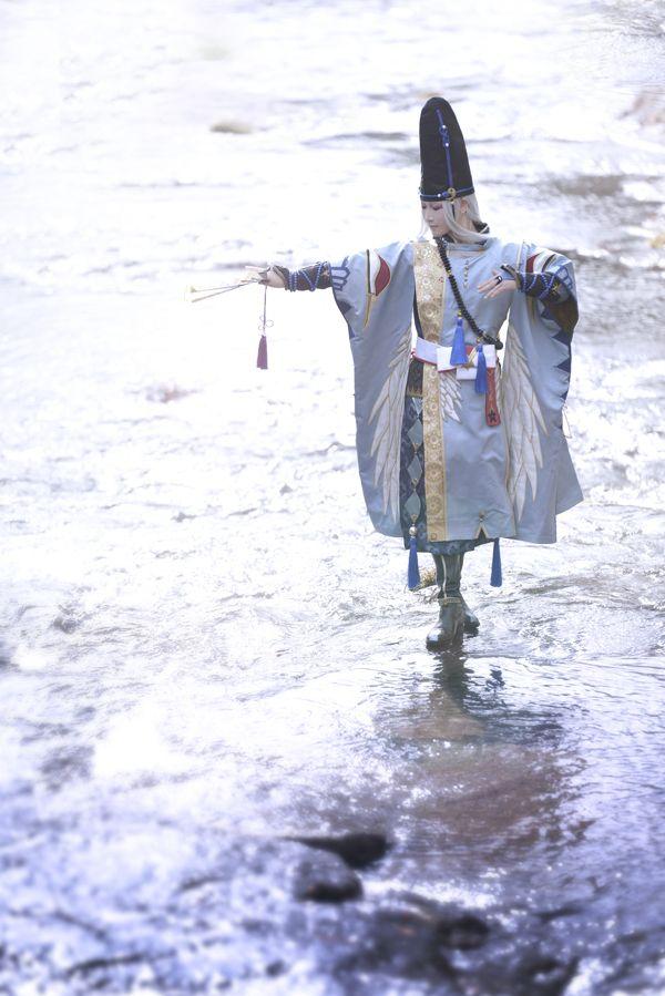 REIKA (reika2011) as Abe no Seimei of Onmyoji