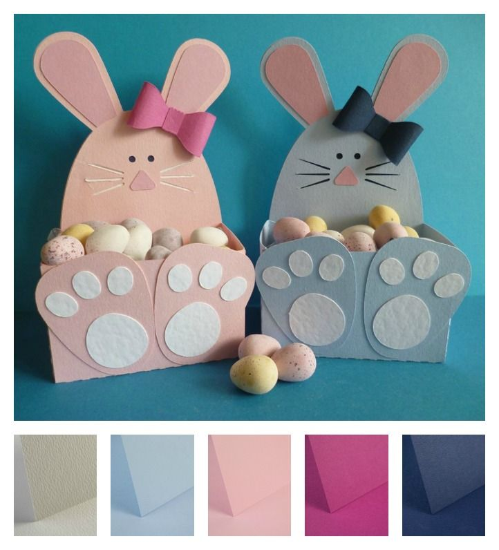 Take a look at what barbara has used to make these cute bunny take a look at what barbara has used to make these cute bunny boxes negle Gallery