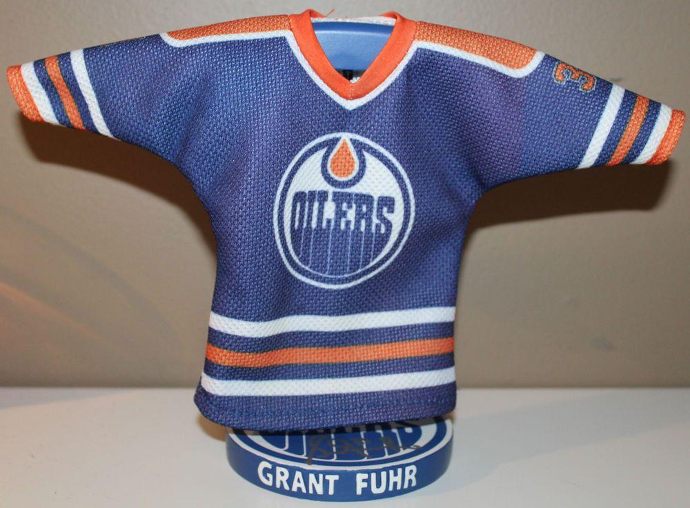 Grant Fuhr #31 FedEx Stadium Giveaway Dec 2 2011 7.5  Edmonton Oilers
