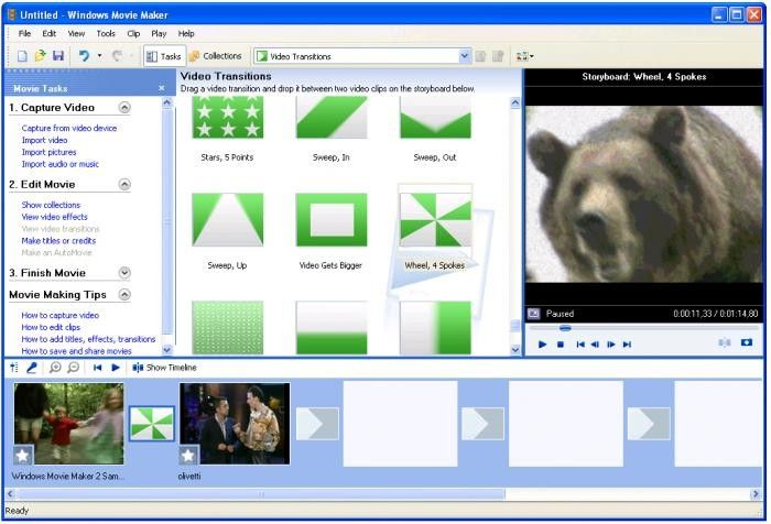 photo video maker for windows xp
