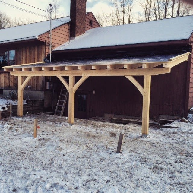 Lean To Patio Covered Wood: Future Side Lean To? (north Side)