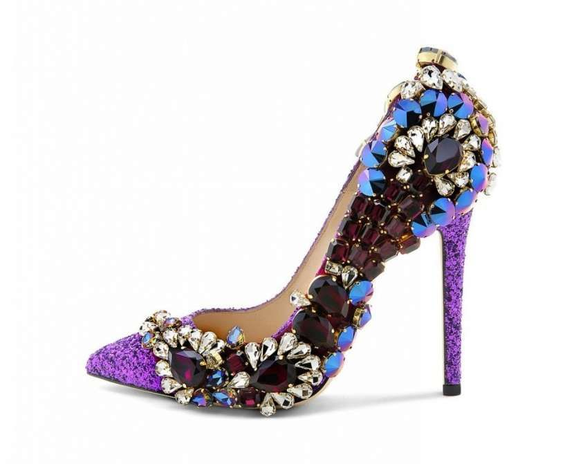 Collezione Scarpe Gedebe Autunno Inverno 2015 2016 Jeweled Shoes Shoes Jeweled Sandals