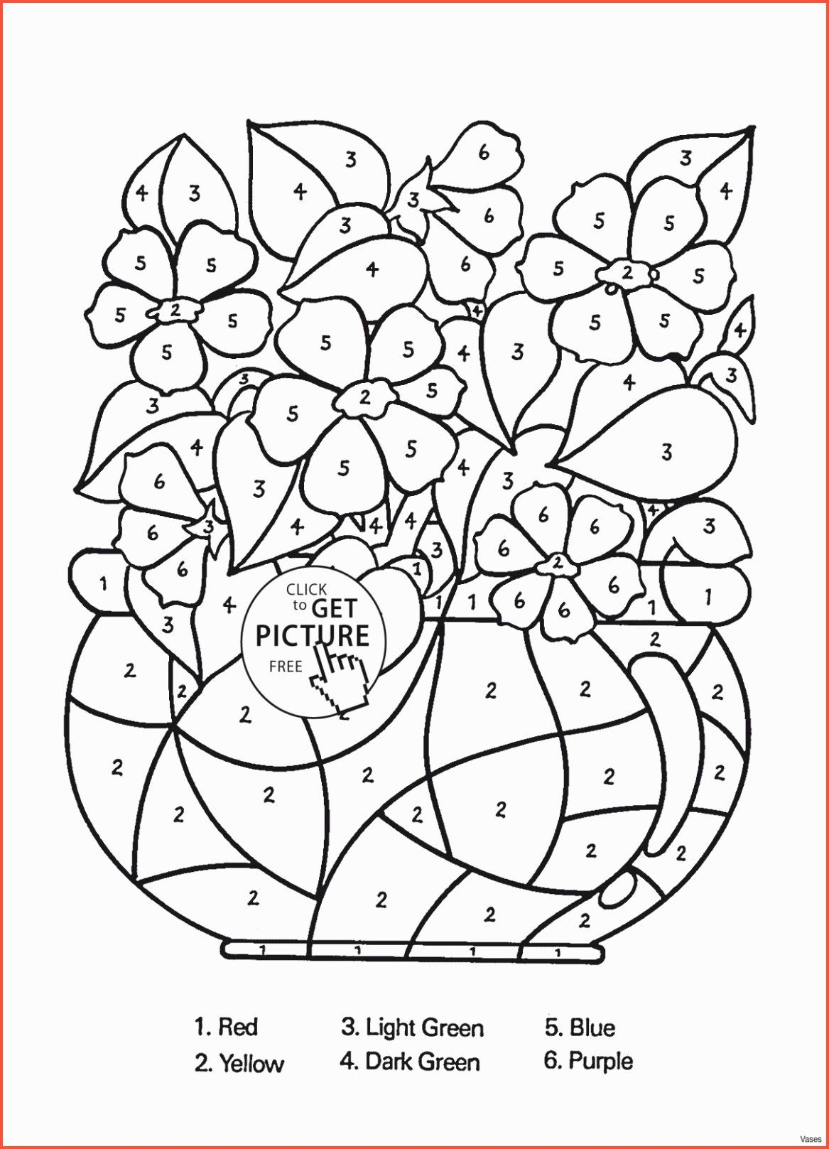 Paint By Number Coloring Pages