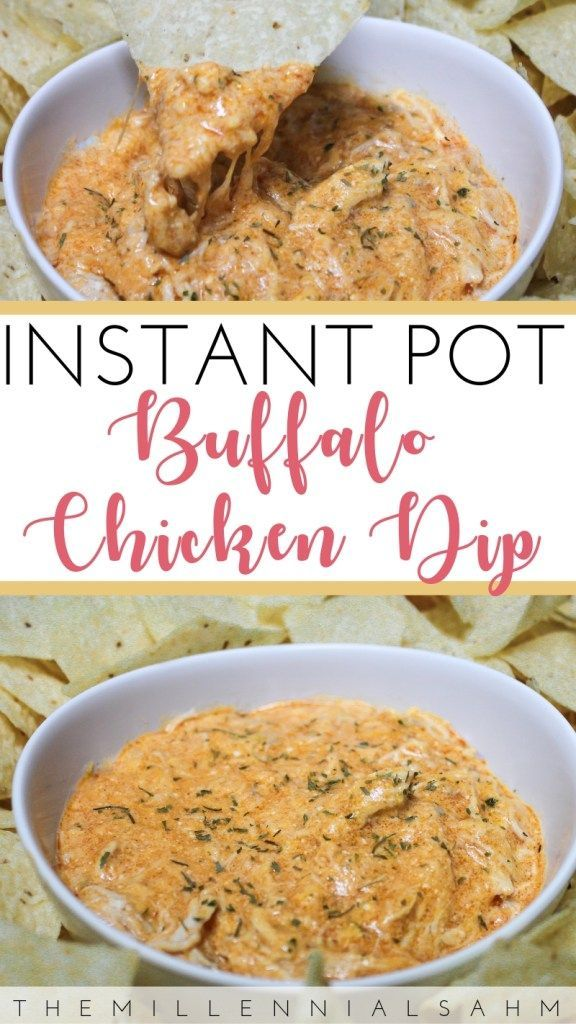 Instant Pot Buffalo Chicken Dip