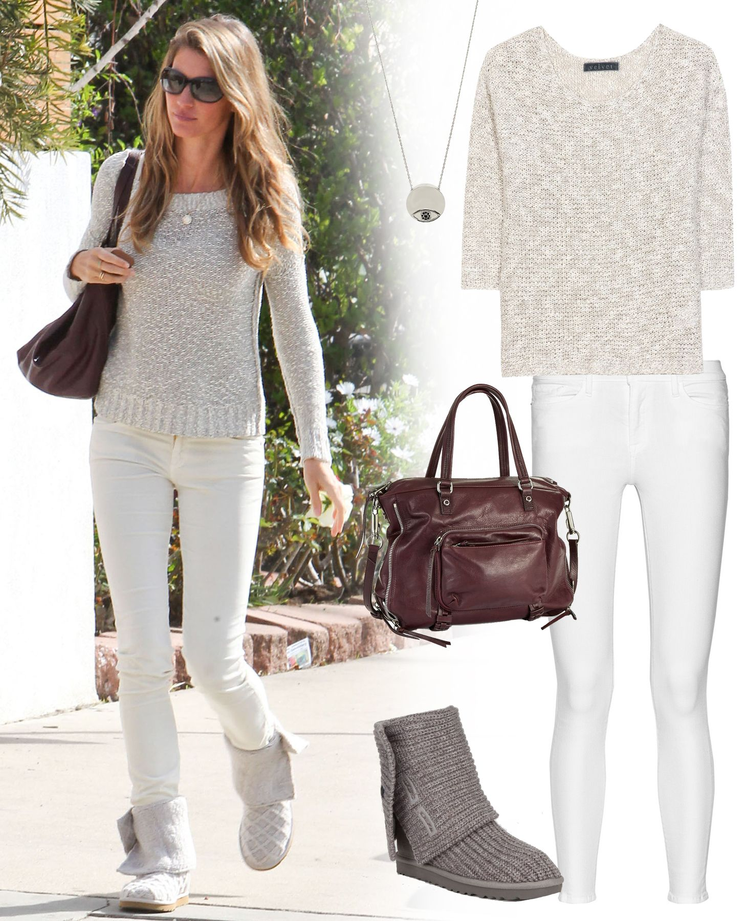 Look - How to uggs wear with baggy jeans video