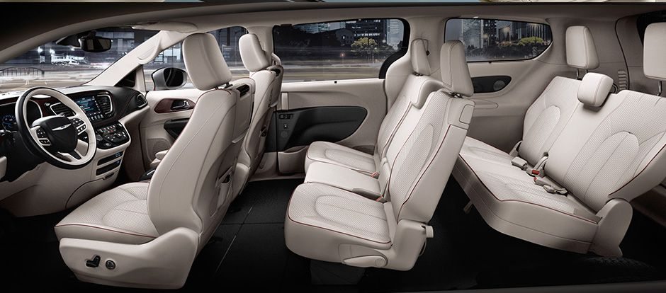 2017 Chrysler Pacifica Cargo And Passenger Space Chrysler