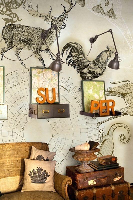 Wall & Deco MISSTERRE - BigBrands13 | Behang