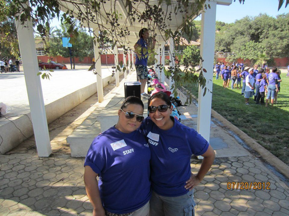 Summer Camp Graduation 2012 - Volunteer Angie and Julissa, Corazón Office Manager #nonprofit #charity #corazon
