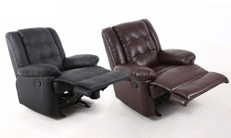 Pu Leather Rocking Recliner Chair From Aed 989 Pu Leather Rocking Recliner Chair Accessories Brightlinetradingllc Chairs Cu Recliner Chair Recliner Chair