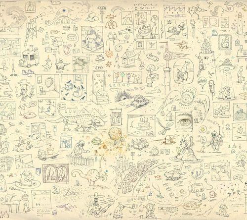 Shaun Tan sketches